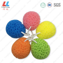 Seaweed colorful bath sponge