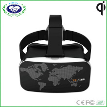 Vatos Vr Park Virtual Reality 3D Glasses for 3D Video Games Headset for 4-6 Inch Smartphone (Black)