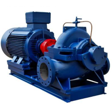 Single stage two suction electric farm irrigation pump