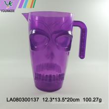 Bule de caveira de plástico de Halloween