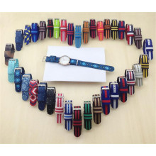 Yxl-610 Custom Fancy Washable Printed Nylon Nato Watch Straps Manufacturer