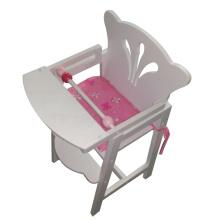 Jouet de chaise haute poupée vente chaude avec coussin pour les enfants et les enfants