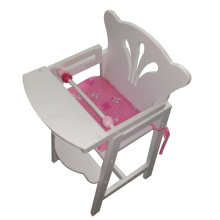 Hot Sale High Doll Chair Toy with Cushion for Kids and Children
