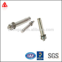stainless steel hilti anchor bolt / concrete through bolt