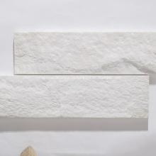 Azulejos de pared de cara dividida natural de piedra de mármol