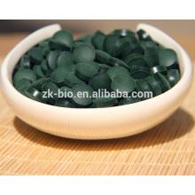 Venda quente Natural Organic Spirulina talbet