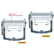 Esf1020A Esf1020b Máquina de dobrar manual de precisão