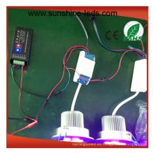 RGB / RGBW / alta potencia 15W LED Downlight
