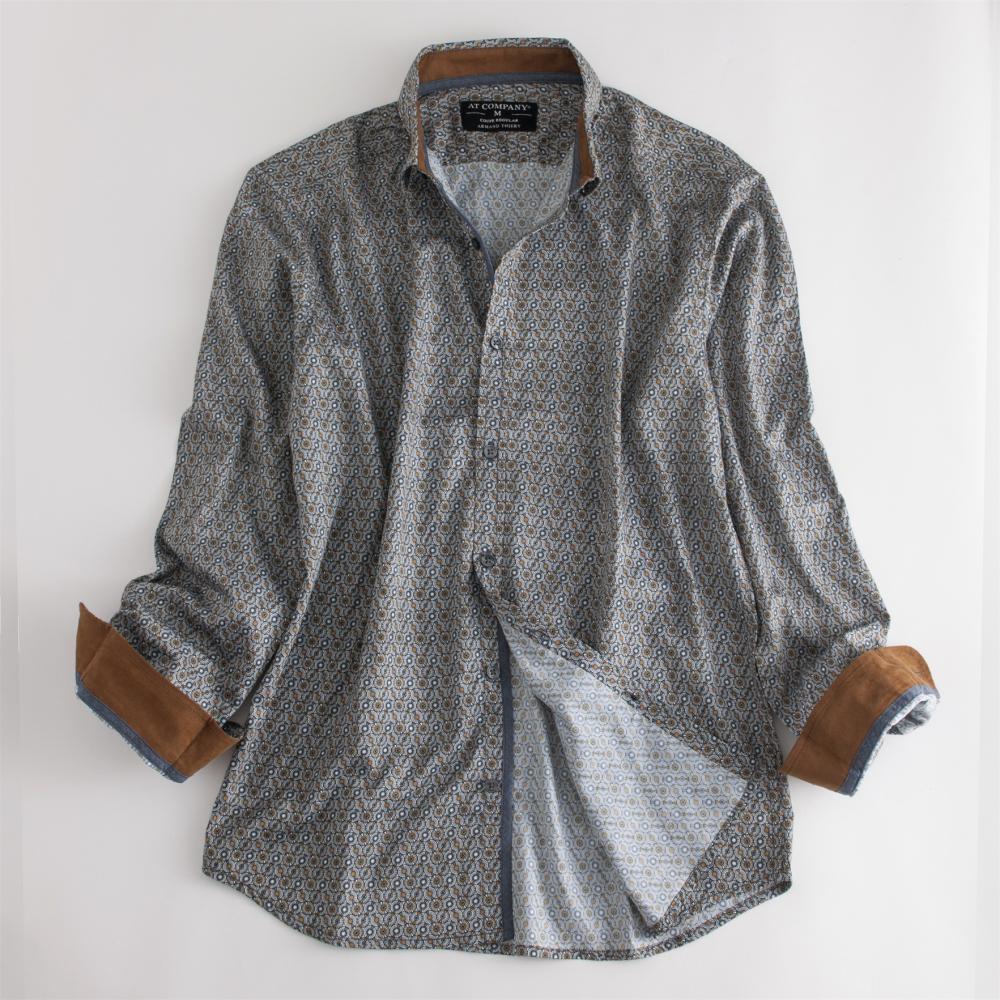 Men's Sateen Print Shirts