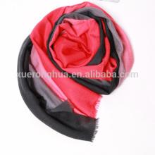 ombre banned châle en cachemire pour les femmes