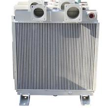 Enfriador de aire para compresor de pistones
