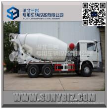 Caminhão do misturador de cimento de Shacman Delong F3000 13 Cbm