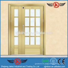 JK-SS9013 conception à une ou à une demi-porte avec porte en verre en acier inoxydable