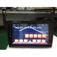 Pantalla táctil completa del reproductor de DVD del coche para Glof7 + con sistema Android + 1024 * 600 + TV