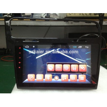 Full touch screen do carro dvd player para Glof7 + com sistema android + 1024 * 600 + TV