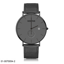 Customize logo stainless steel case water resistance watch