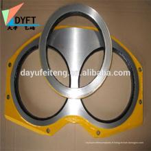 eyeglasses wear plate producing