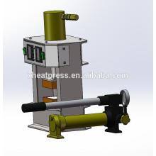 Prensa de óleo de resina hidráulica de folha negra