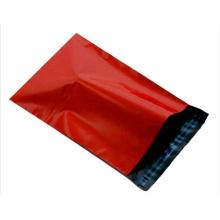 Venda quente na China, logotipo impresso saco de cor vermelha