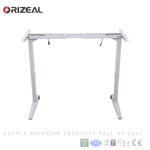 Own safe function Dual motor electric height adjustable standing desk wireless remote control