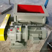 valve rotatoire d'acier inoxydable, boîte de valve, valve rotatoire de serrure d'air
