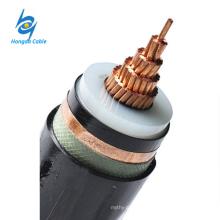 Cable de cobre de 630 mm de un solo núcleo 33 kV xlpe
