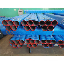 ASTM A53 Sch40 Red Painted Steel Pipes