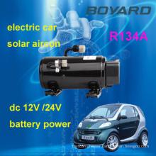 electric car air conditioning kits R134A 12v/72v/320v automotive electric air conditioning compressor for electric car air con