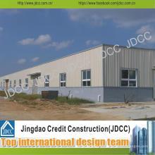 Entrepôt préfabriqué de structure métallique de haute qualité