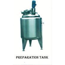 2017 tanque de aço inoxidável do alimento, tanque de concentração SUS304, tanque de pressão vertical do PBF