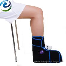 Paquete de gel frío para alivio del dolor de tobillo antiinflamatorio hinchable de muestra disponible