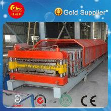 Hochwertige Farbstahl-Dachziegel-Fliesenmaschine