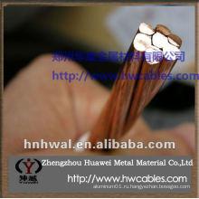 Жесткий провод из проволочного медного провода в качестве генератора