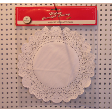 1 0inch round lace  paper doily with