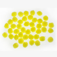 Pompom giallo mini crafting