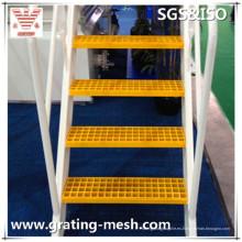 FRP / GRP moldeado / fibra de vidrio / rejilla para la banda de rodadura de la escalera