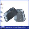 Caja desechable de papel de aluminio para uso alimentario con barbacoa