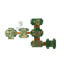 Hög precision Rigid-flex 4Layers PCB ENIG