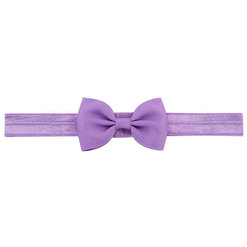 huvudet hår elastiska band Grosgrain Ribbon Bow Girl
