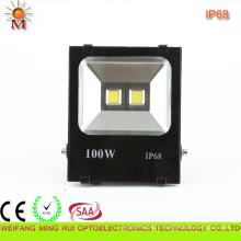 Lumière d'inondation de haute qualité de la qualité 100W LED de lumens élevés d'IP68