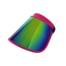 Sombrero de visera con protector facial de longitud de PC