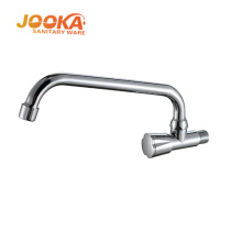 China sanitary ware pull down wall mounted kitchen faucet