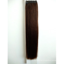 Top Grade 18inch 4# Color Easy Pull Knot Thread Knot Hair Extensions Wholesale Human Hair Remy Hair Virgin Hair
