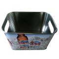 Square Ice Bucket for advertising