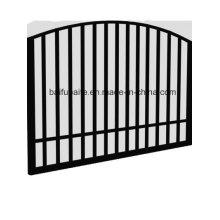 Porte galvanisée plongée chaude de fer de porte extérieure faite sur commande de barrière pour le jardin