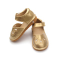Vendas por atacado Hard Sole Musical Baby Squeaky Shoes