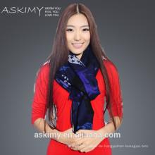 Großhandel bunte gedruckte Frauen Schal