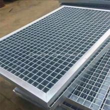 Couvercle de grille de drainage en acier inoxydable