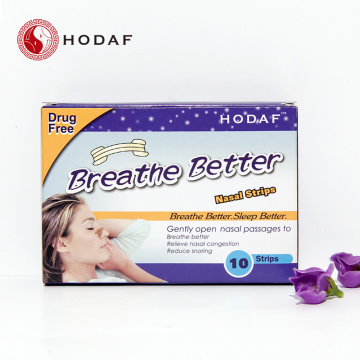Color de la piel Non-woven Better Breathe Nasal Strips