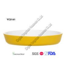 Cerâmica Bakeware definido na promoção